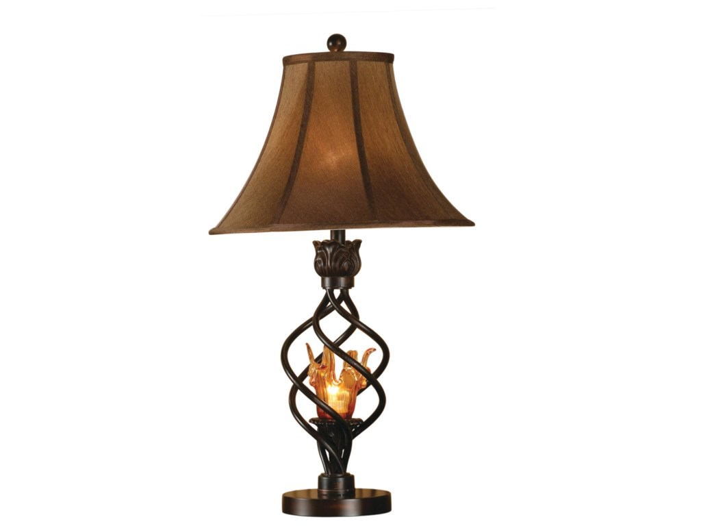 Anthony of California LampsAntique Table Lamp