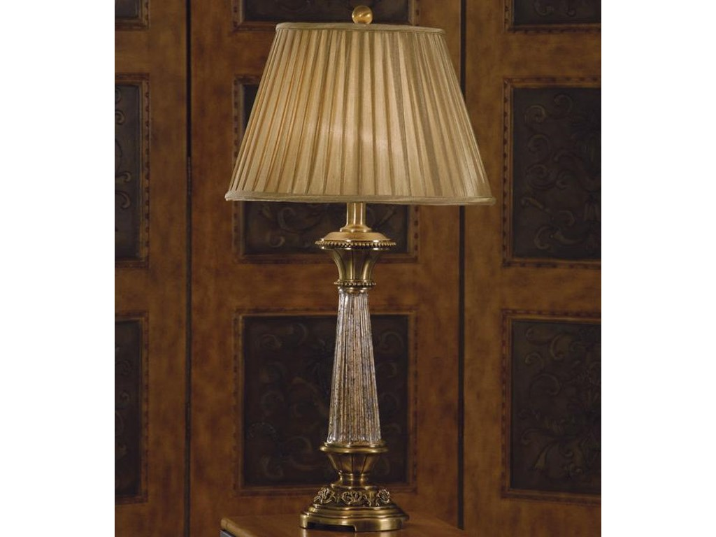 Lamps Traditional Table Lamp and Shade by Anthony of California at Sam  Levitz Furniture