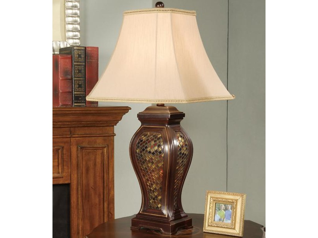 Anthony of California LampsTable Lamp and Shade