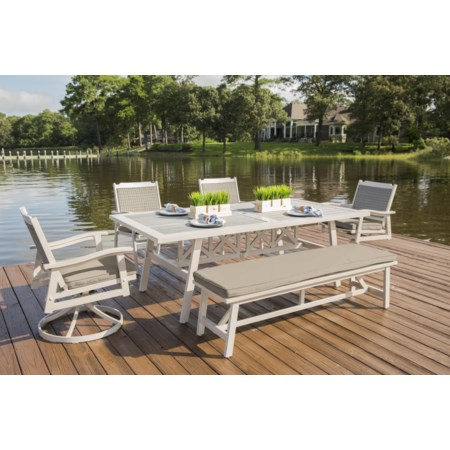 PS Wood Dining Set