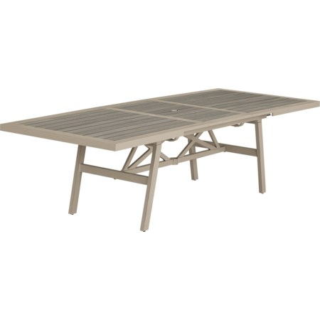 PS Wood Top Table