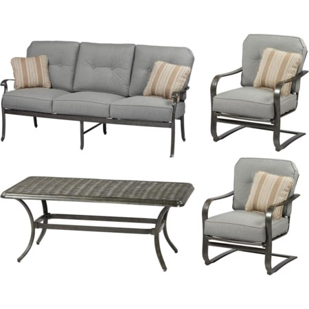 Outdoor 4 Piece Conversation Set