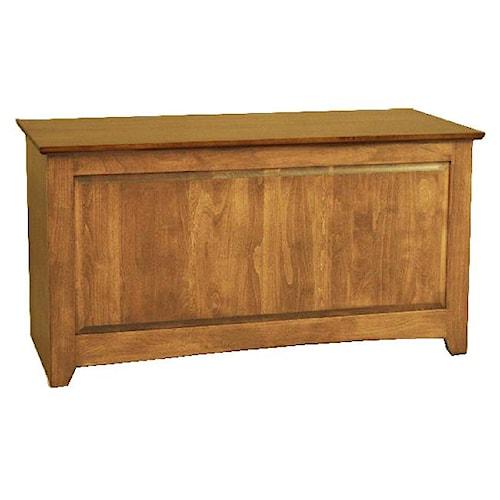 Archbold Furniture Custom Amish Blanket Box / Chest