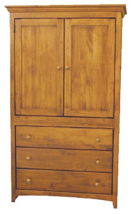 Archbold Furniture Custom Amish Armoire