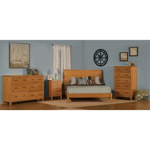 Archbold Furniture 2 West Queen Bedroom Group