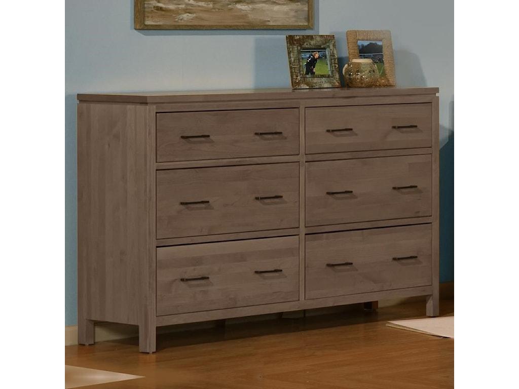 Sarah Randolph Designs 2 West6 Drawer Dresser