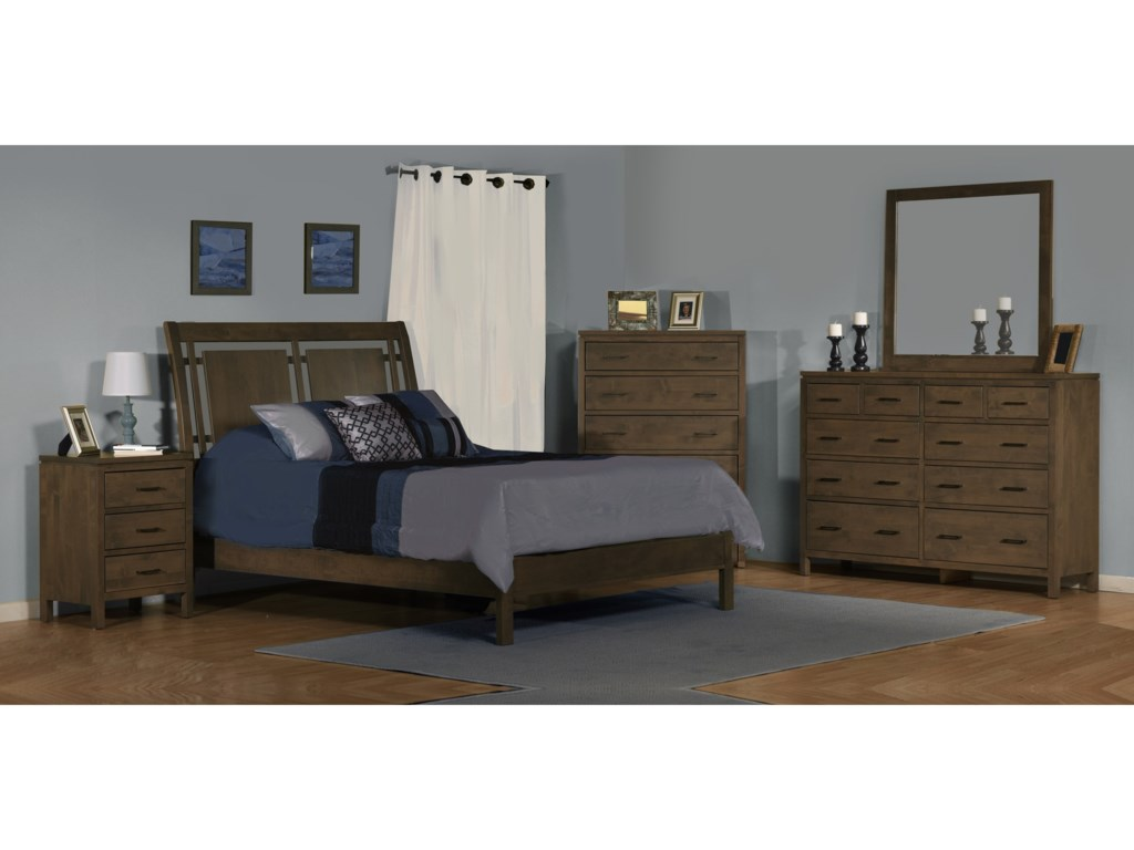 Archbold Furniture 2 West10 Drawer Dresser