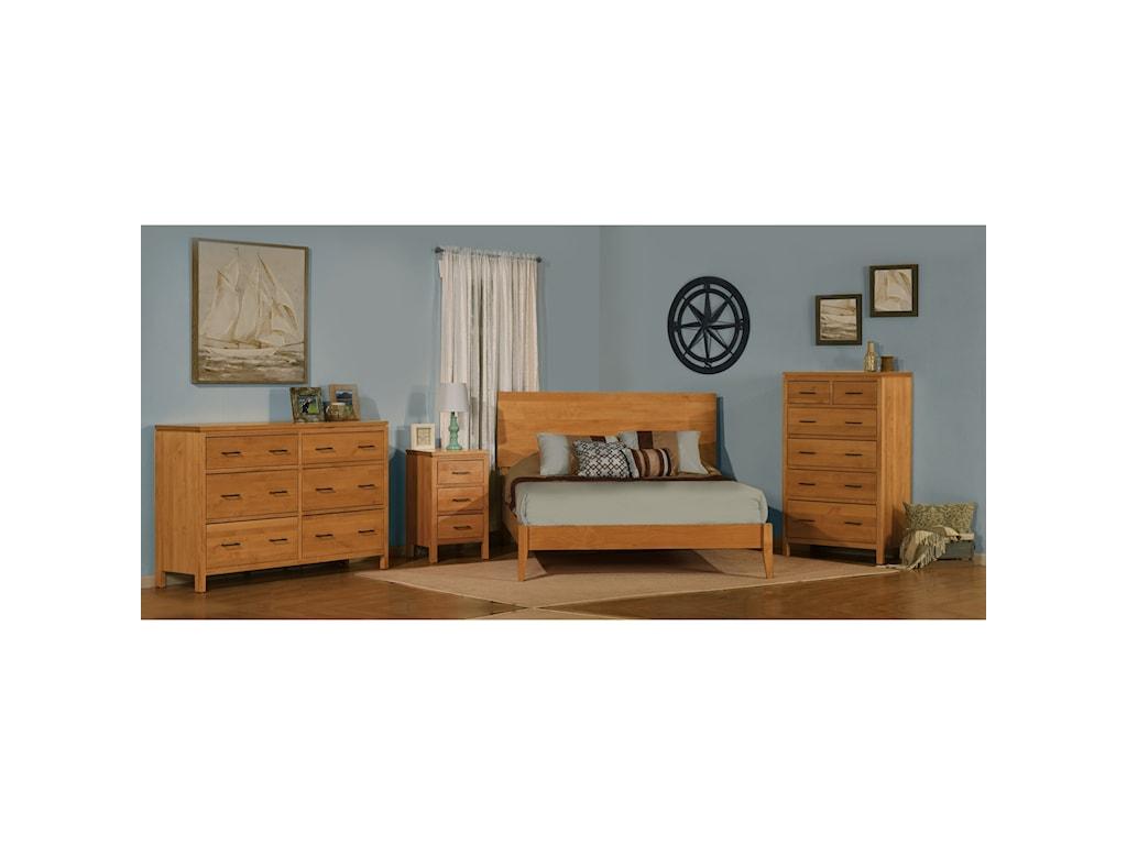 Archbold Furniture 2 West3 Drawer Night Stand