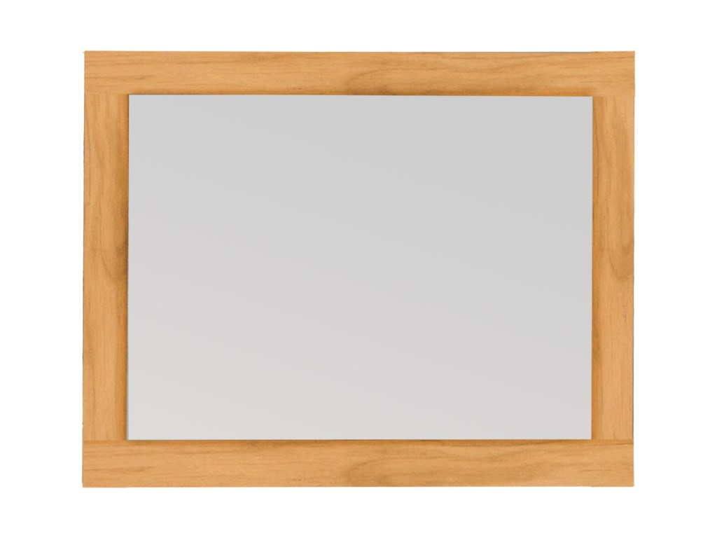 Archbold Furniture 2 WestDresser Mirror