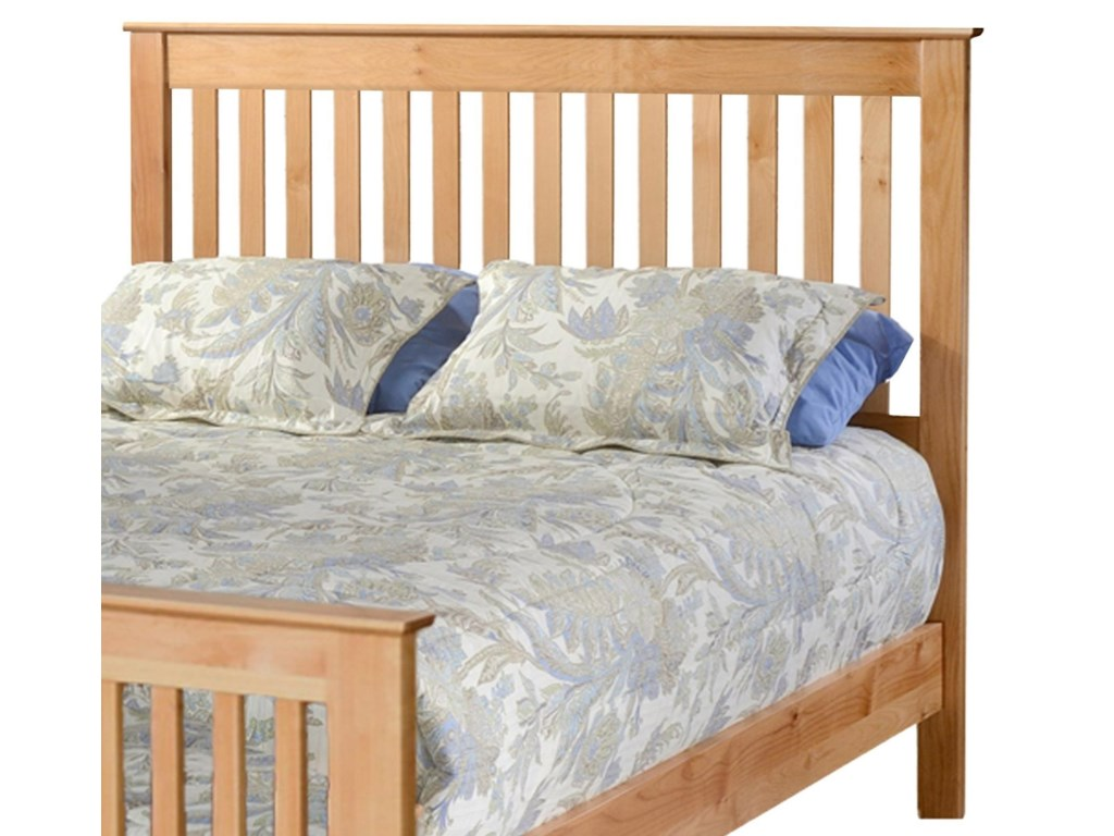 Archbold Furniture ShakerFull Slat Headboard Only