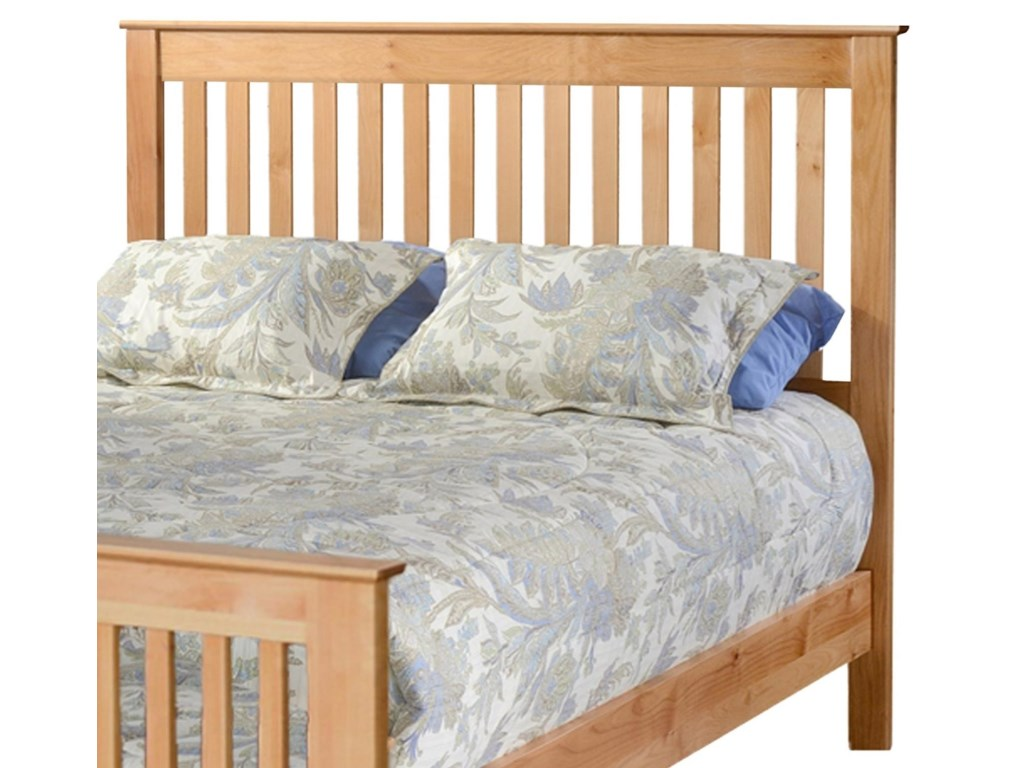 Archbold Furniture ShakerQueen Slat Headboard Only