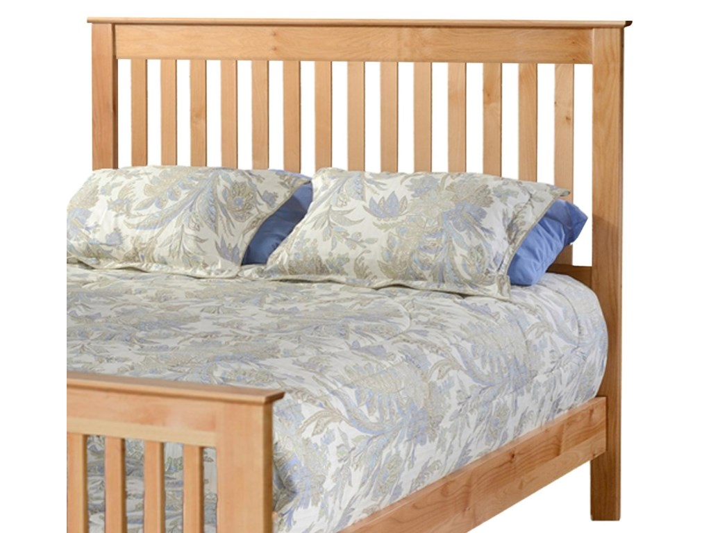 Archbold Furniture ShakerKing Slat Headboard Only