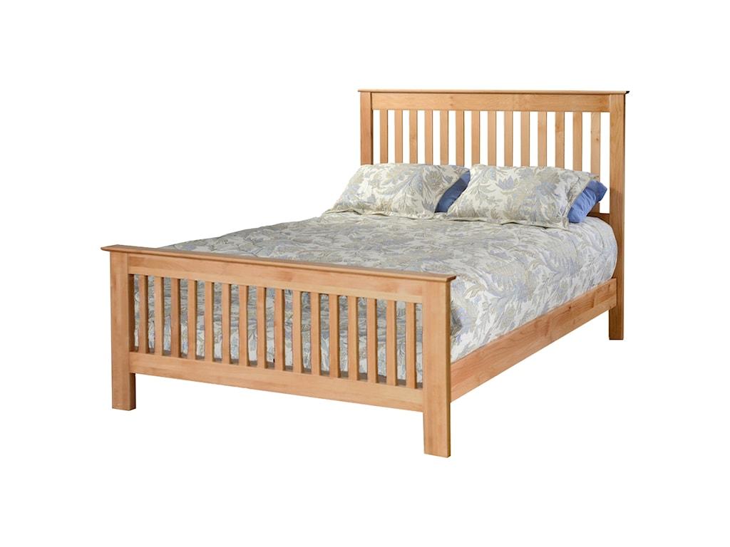 Vendor 980 ShakerQueen Slat Bed