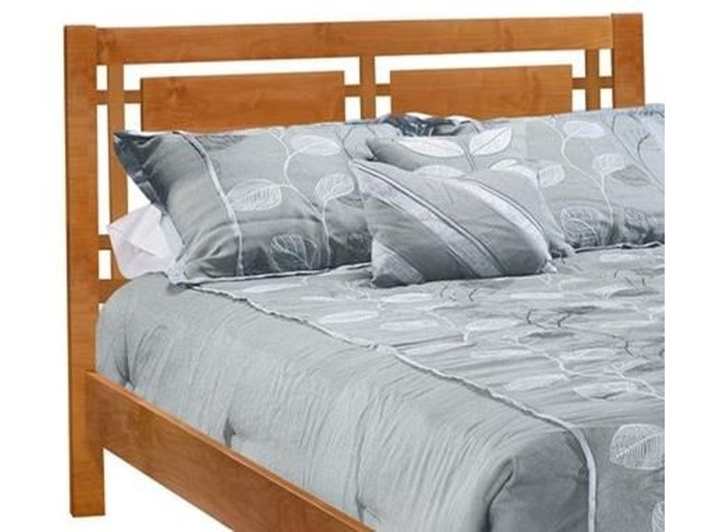 Archbold Furniture 2 WestFull Open Panel Headboard Only