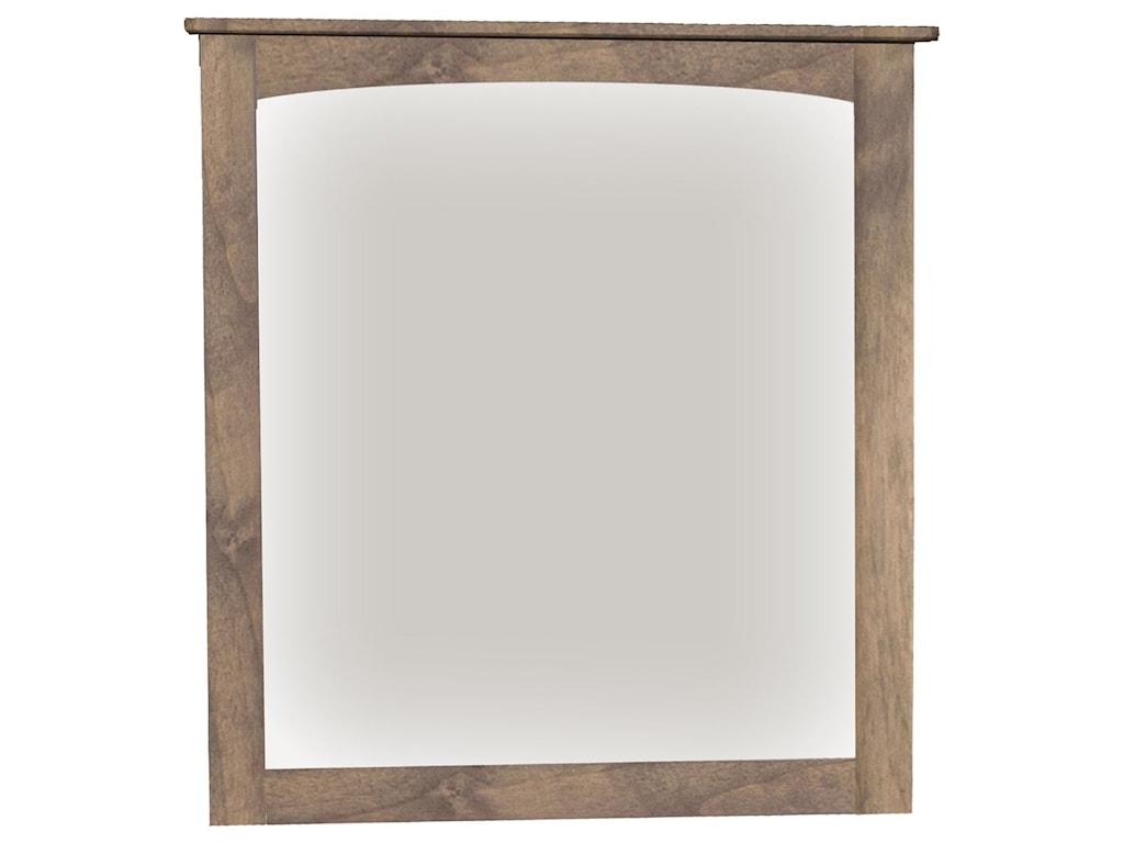 Archbold Furniture Alder HeritageMirror