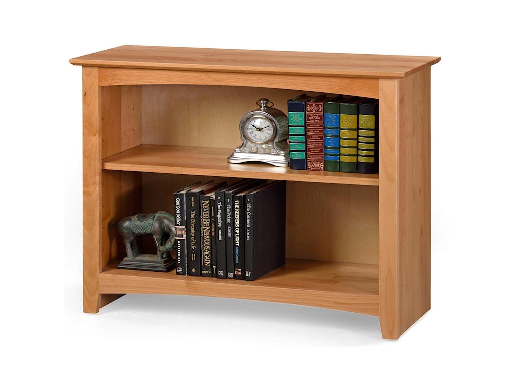 Archbold Furniture Alder Home OfficeOpen Bookcase