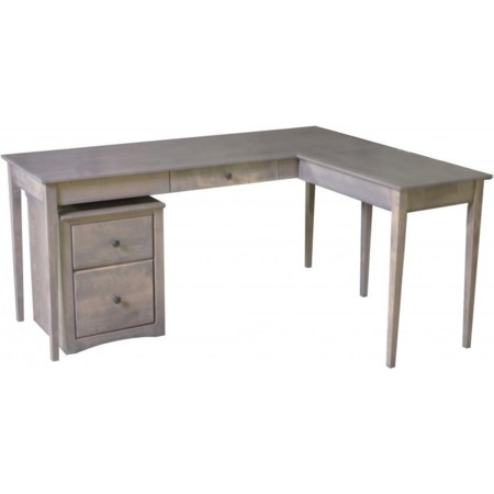 Writing Desk with Return