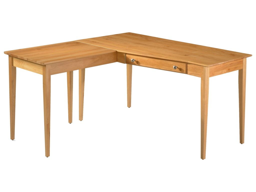 Archbold Furniture Modular Home OfficeL Shape Table Desk