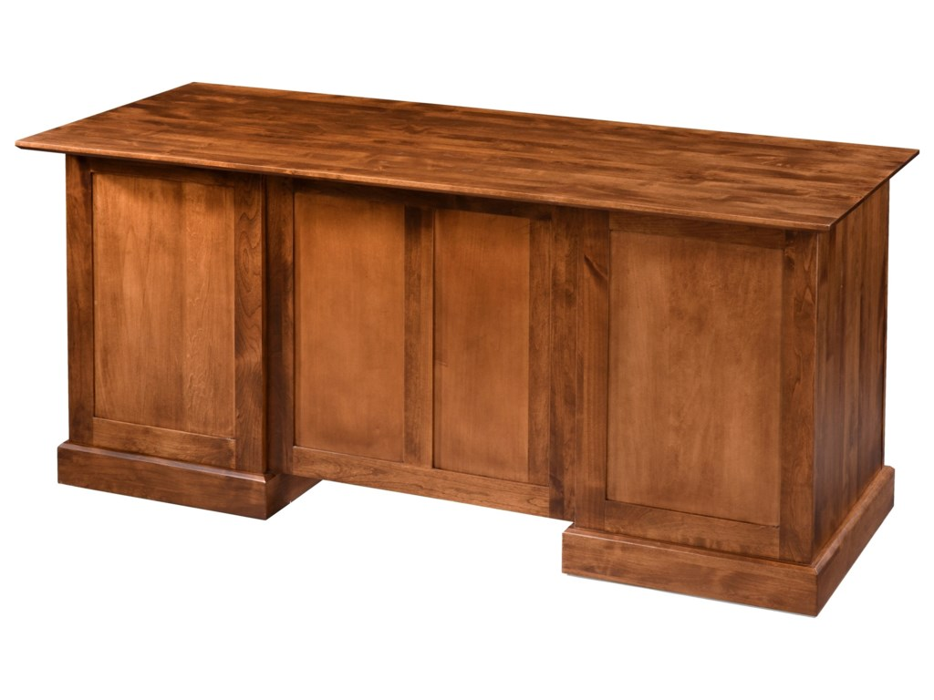 Archbold Furniture Executive Home OfficeExecutive Desk