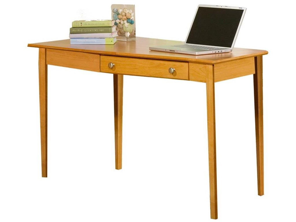 Archbold Furniture Alder Home OfficeLeft Wedge Desk