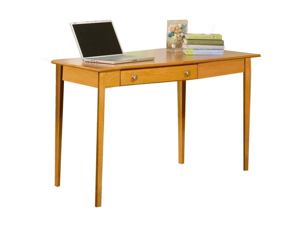 Archbold Furniture Alder Shaker Home OfficeRight Wedge Desk