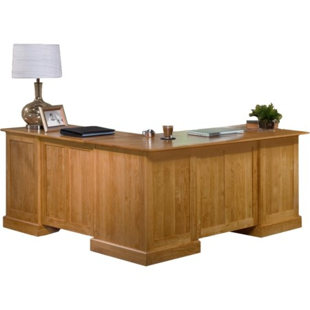 L Shape Desk and Return