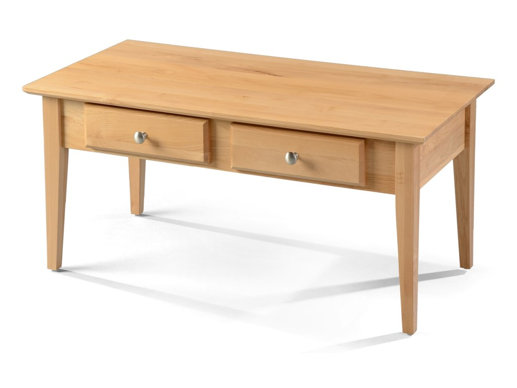 Vendor 980 Alder Shaker TablesCoffee Table
