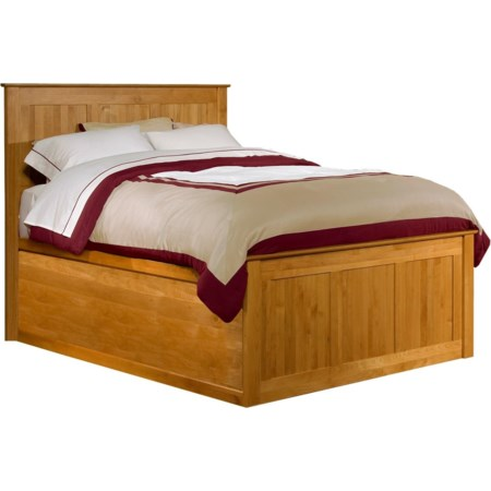 Queen Chest Bed with Blank Pedestal