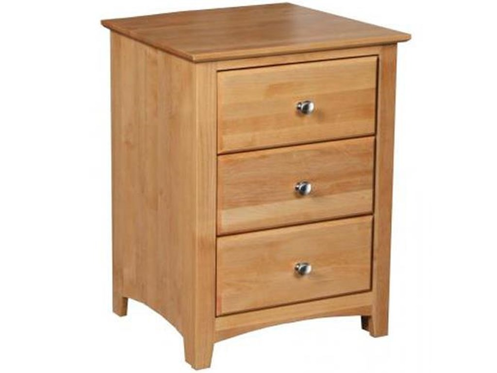 Archbold Furniture Shaker BedroomNight Stand