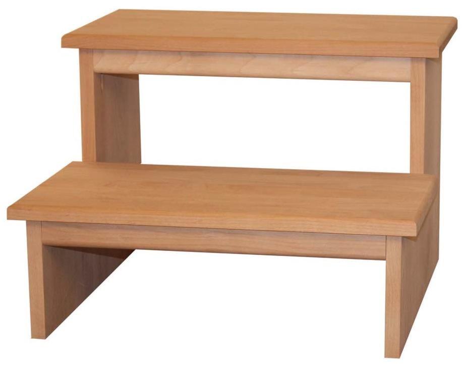 Archbold Furniture Alder ShakerStool