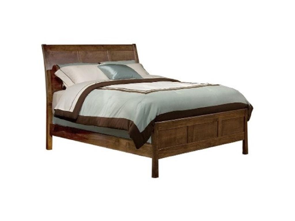 Archbold Furniture Shaker BedroomCalifornia King Sleigh Bed