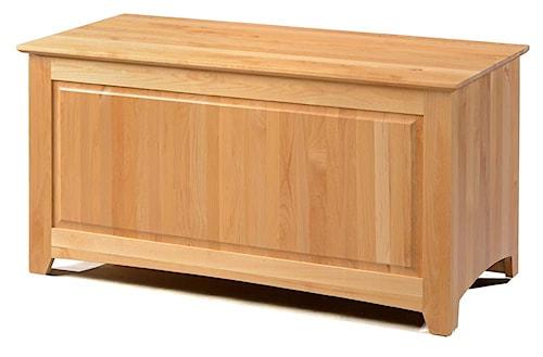 Archbold Furniture Alder Shaker Solid Wood Blanket Chest