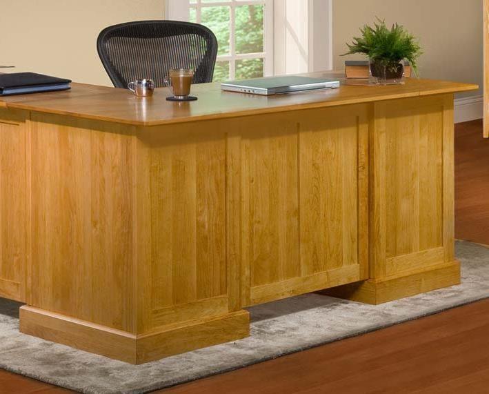 Archbold Furniture Alder ShakerDesk for Return
