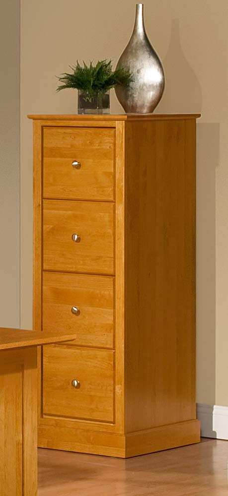 Archbold Furniture Alder Shaker American Made 4 Drawer File
