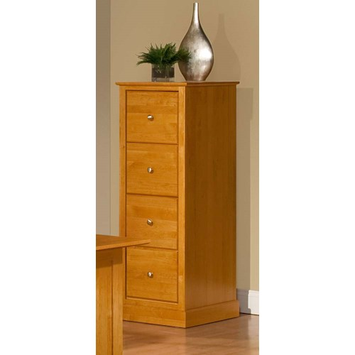 Archbold Furniture Alder Shaker American Made 4 Drawer File