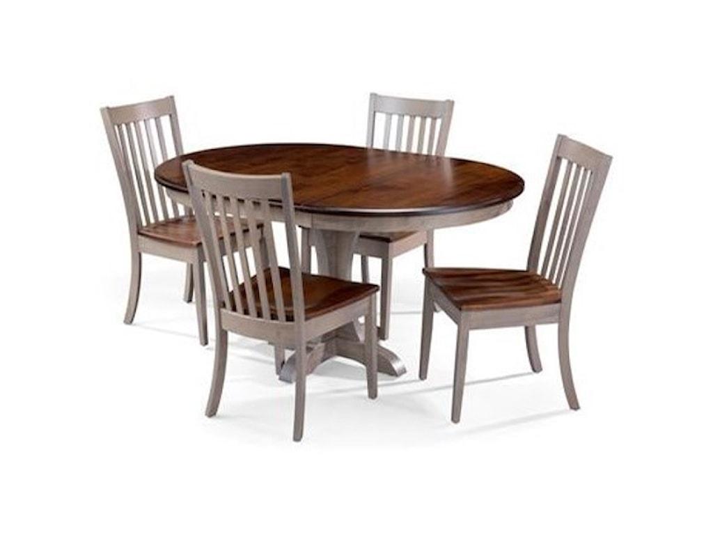 Archbold Furniture Amish Essentials5 Piece Dining Set