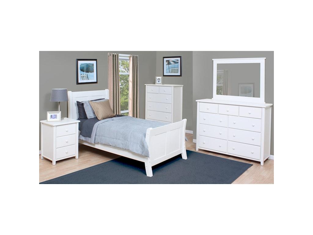 Archbold Furniture Bay HarborFull Bed