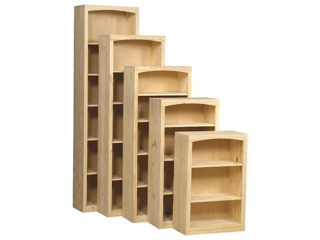 Archbold Furniture BookcasesPine Bookcase