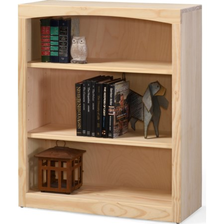 """36"""" Tall Pine Bookcase"""