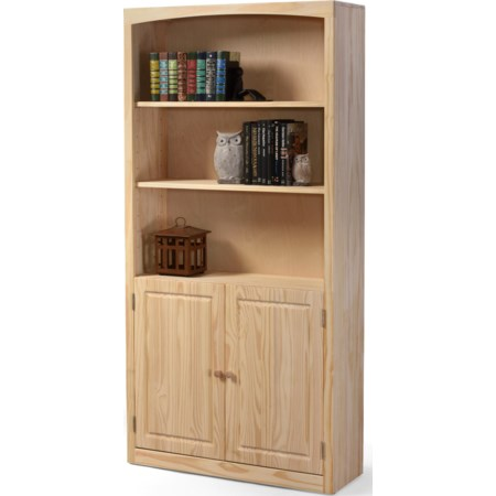 Bookcase 36 X 72 with Door Kit