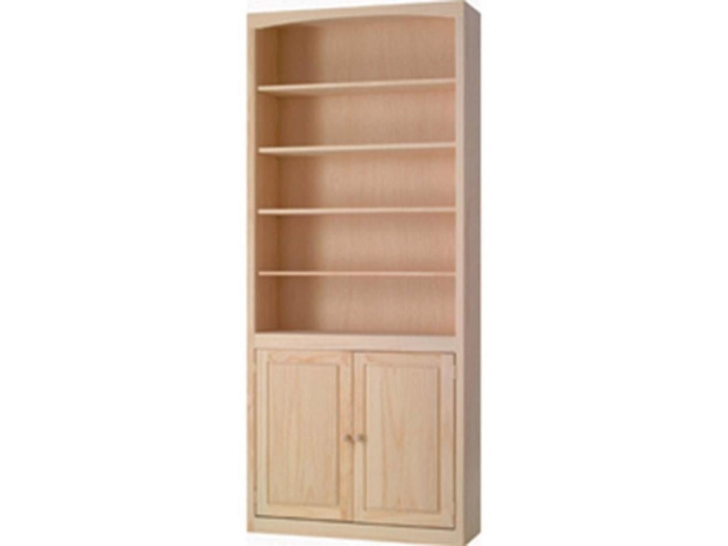Archbold Furniture BookcasesBookcase with Doors