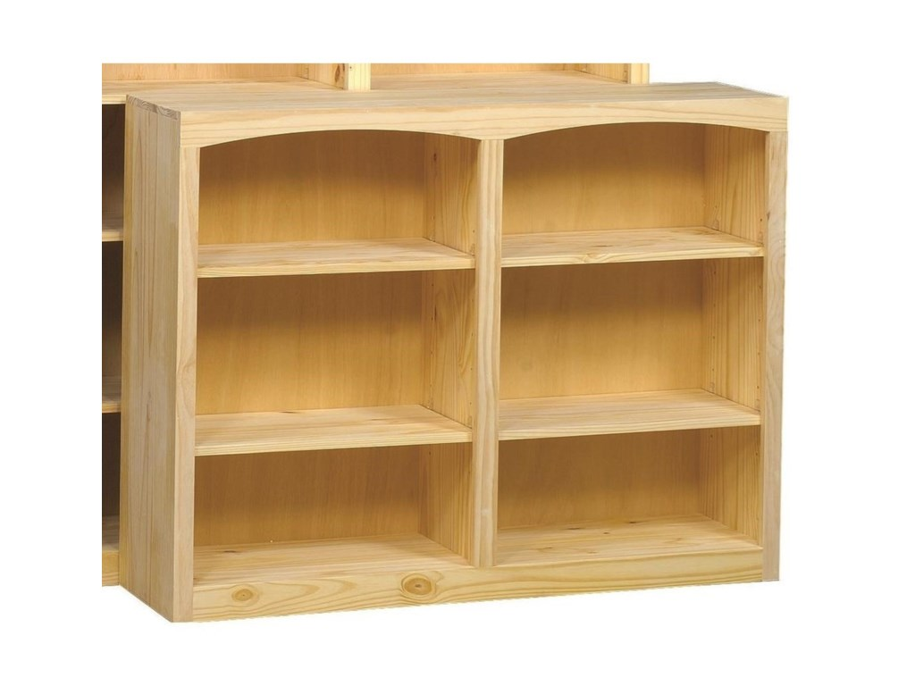 Archbold Furniture BookcasesPine Bookcase