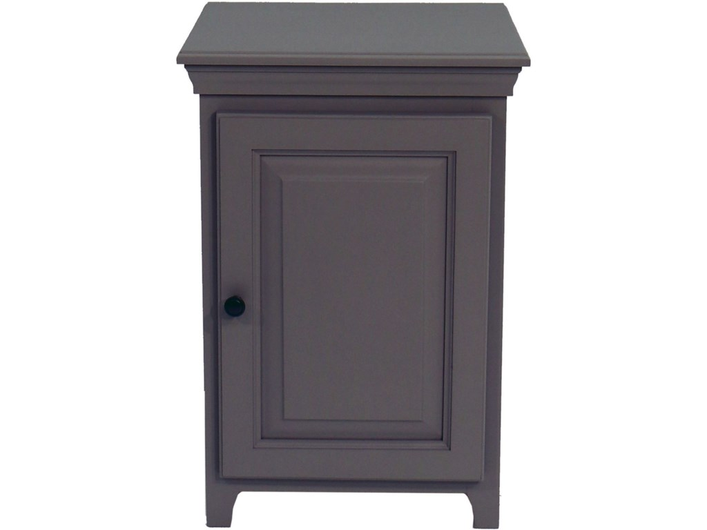 Archbold Furniture Pantries and Cabinets1 Door Cabinet