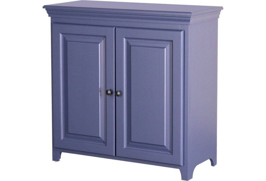 Archbold Furniture Pantries And Cabinets 73636 Solid Pine 2 Door Cabinet With 2 Adjustable Shelves Furniture And Appliancemart Accent Chests