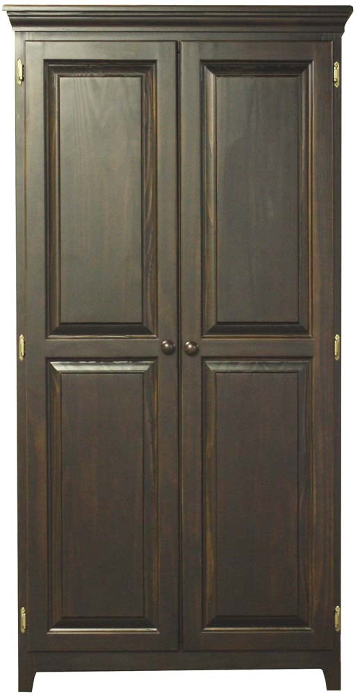 Archbold Furniture Pantries And CabinetsPine 2 Door Pantry ...