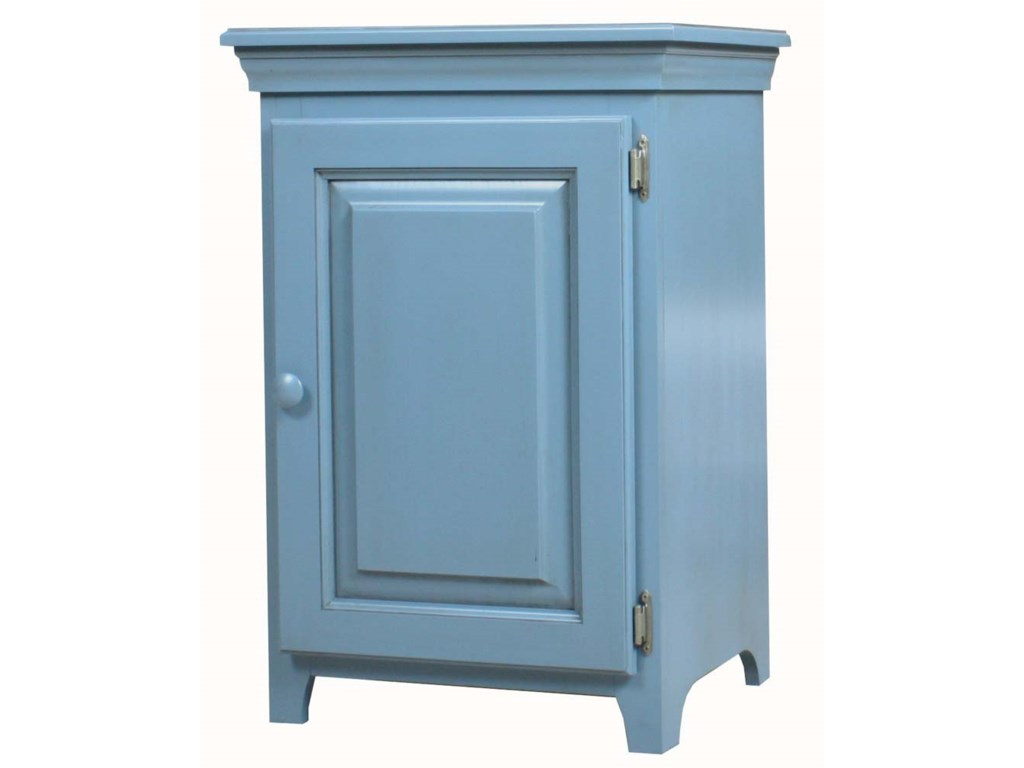 Archbold Furniture Pantries and CabinetsPine 1 Door Console Cabinet