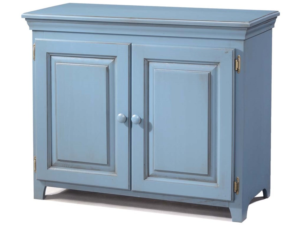Archbold Furniture Pantries And Cabinets Pine 2 Door Console Cabinet