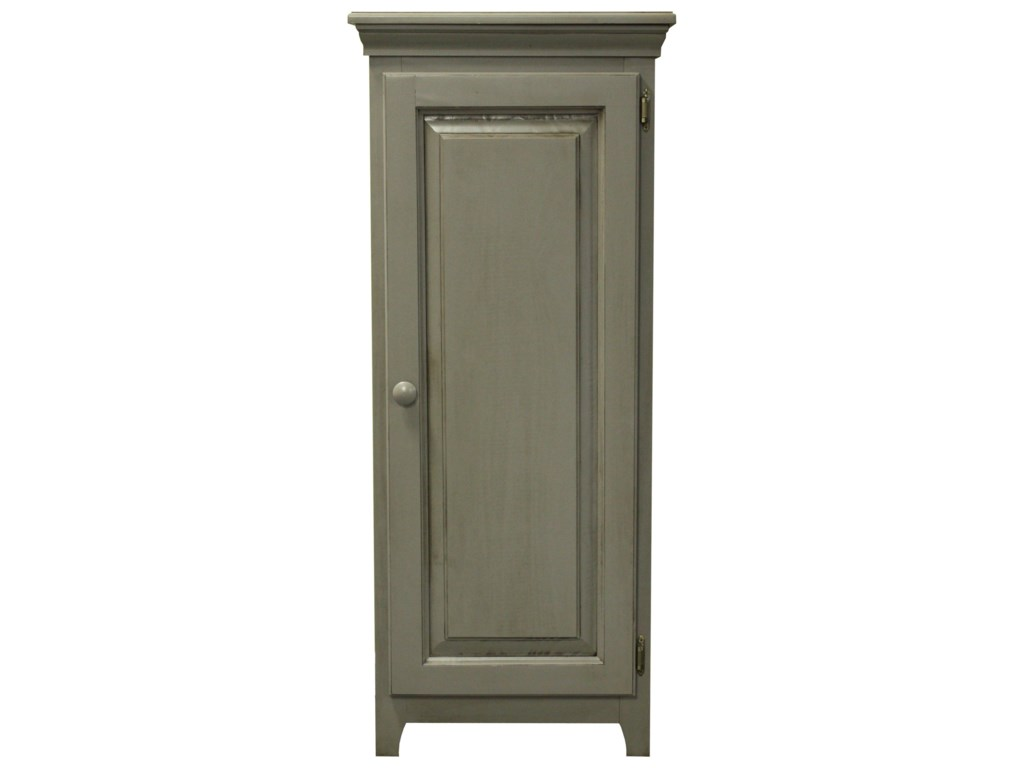 Archbold Furniture Pantries and CabinetsPine 1 Door Jelly Cabinet