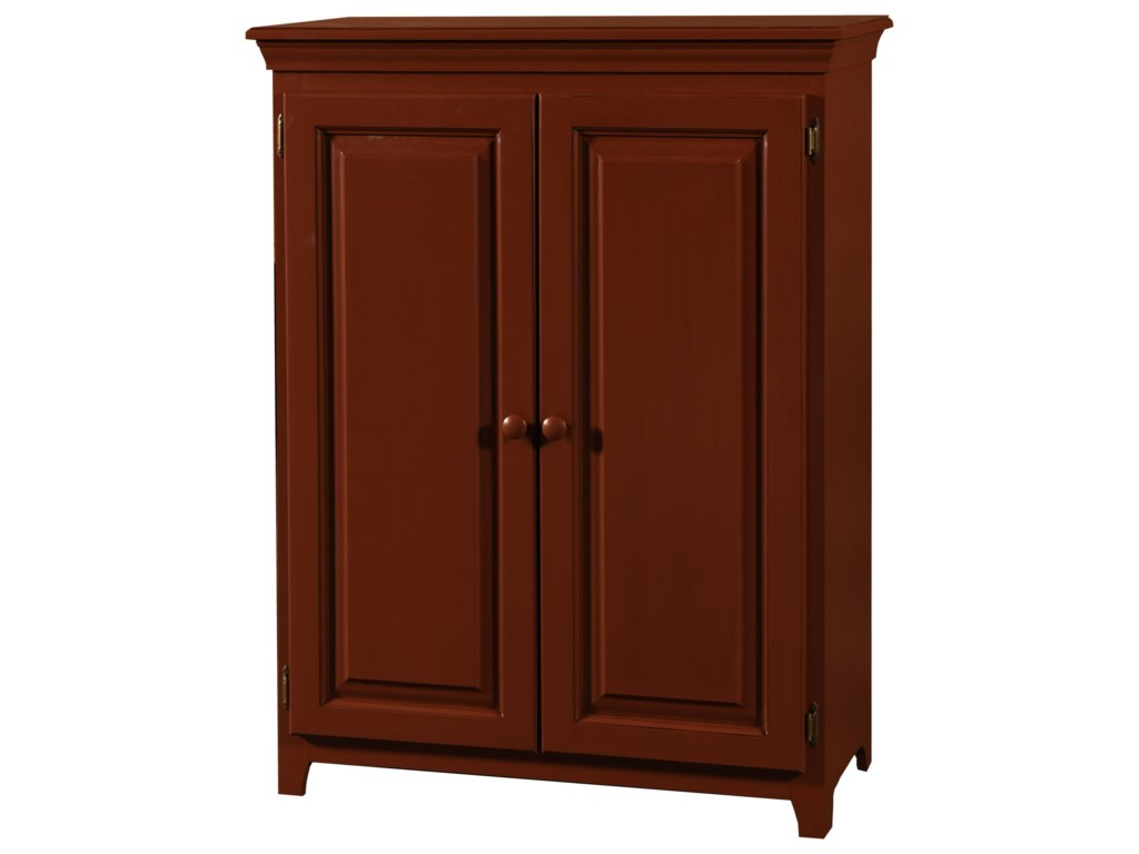 Archbold Furniture Pantries and CabinetsPine 2 Door Jelly Cabinet