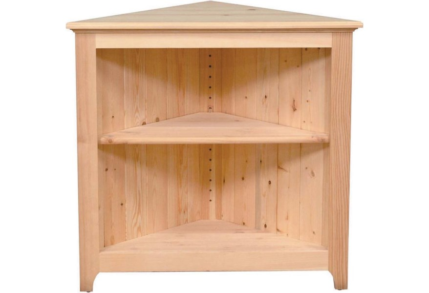 Archbold Furniture Pantries And Cabinets 73230 Pine Corner Cabinet